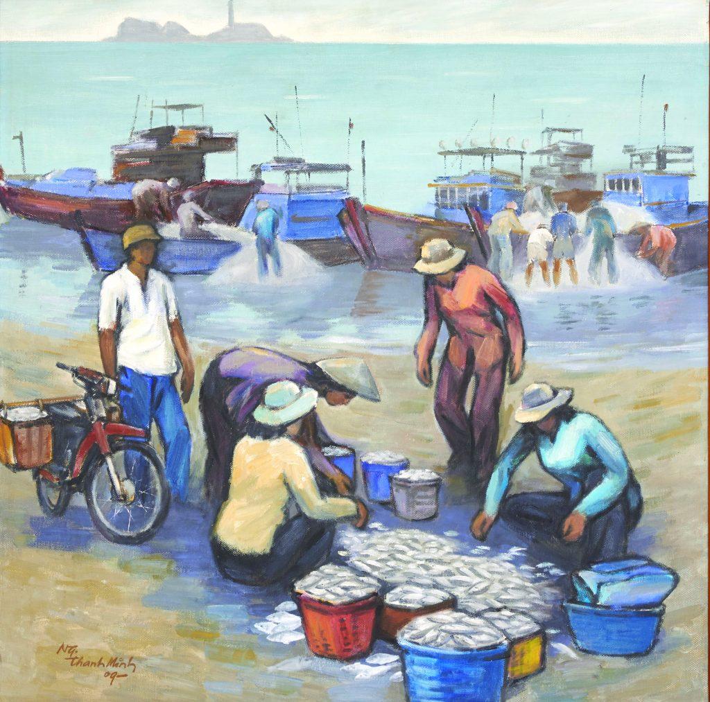 Làng chài Bình Thuận - 2009