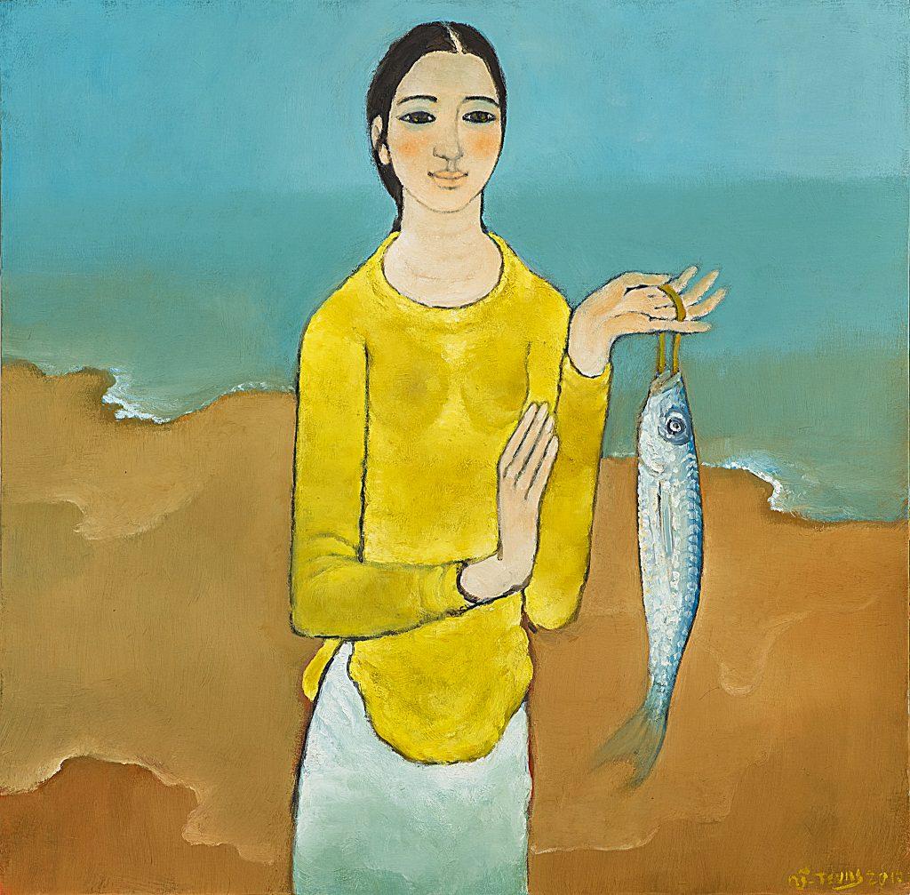 Thiếu nữ và cá - 2010