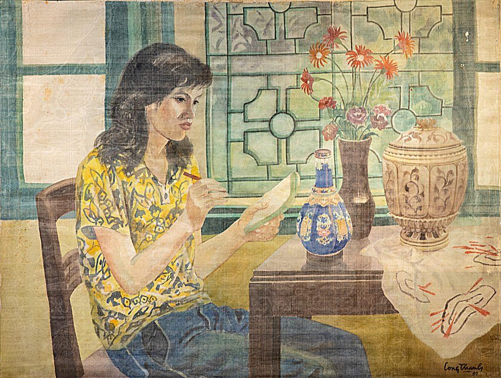 Chân dung vợ họa sĩ - 1980