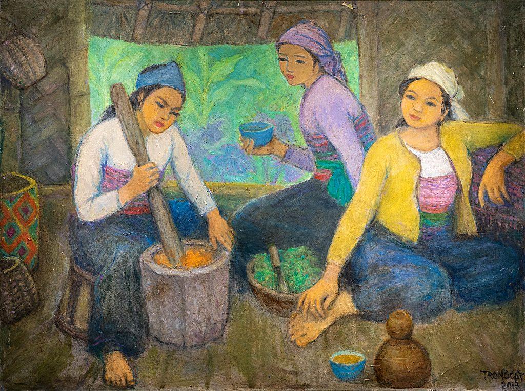 Gian bếp của thiếu nữ vùng cao - 2013
