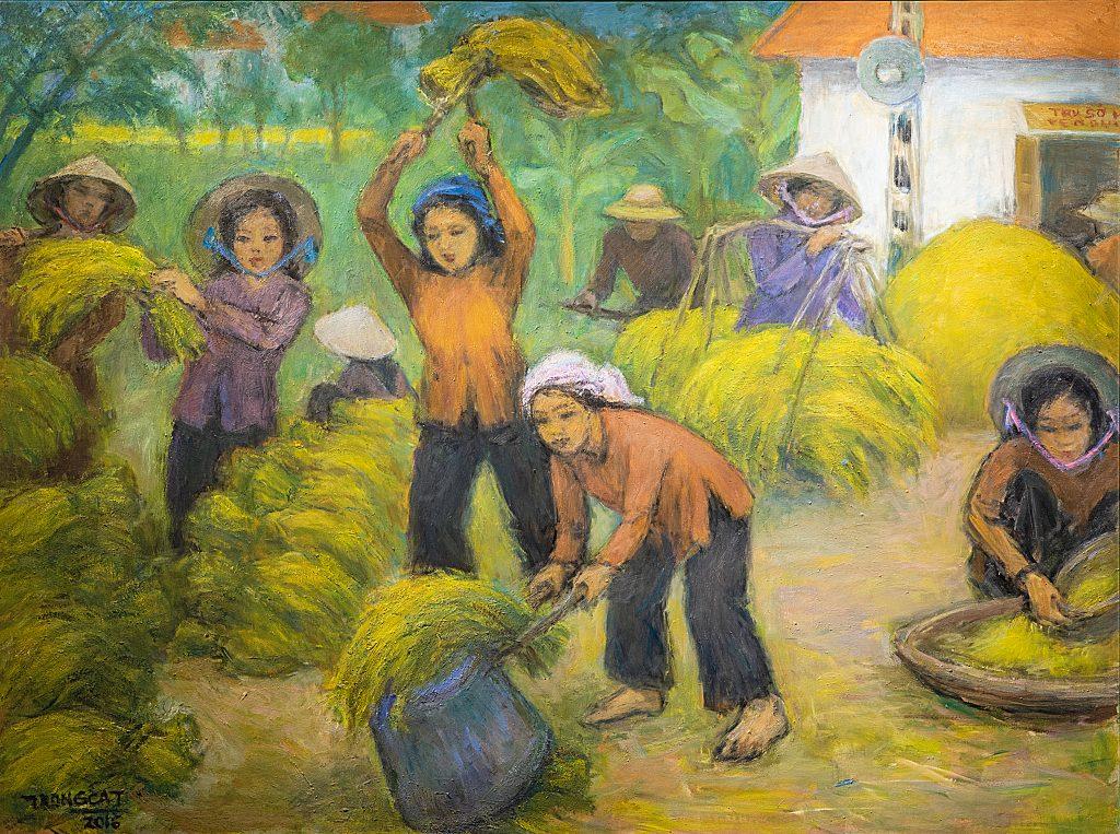 Mùa gặt ngoại ô - 2016